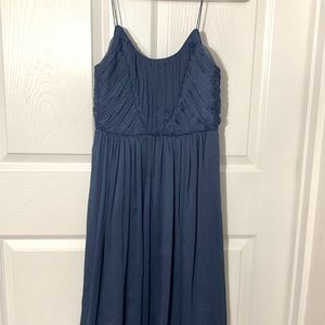 4bbcac530aff Anthropologie Dresses - Hitherto Giselle Pleated Bridesmaid Dress Anthro